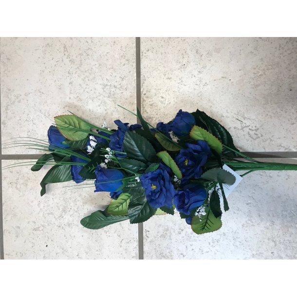 Blomst 069700 råd eller blå med bånd