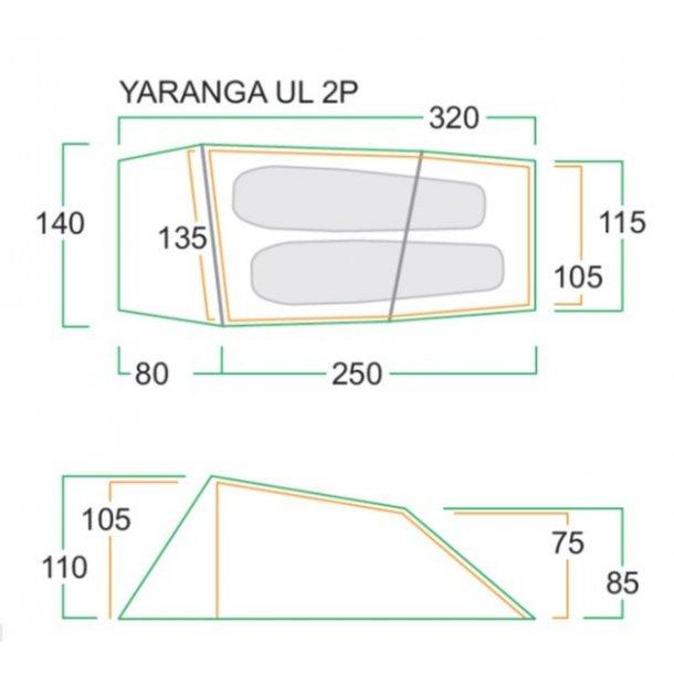 Frisport Yaranga UltraLight 2pers. telt