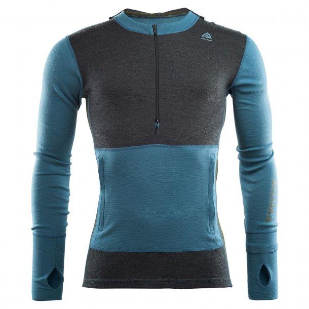 Aclima Warmwool Hood Sweater w/zip Man
