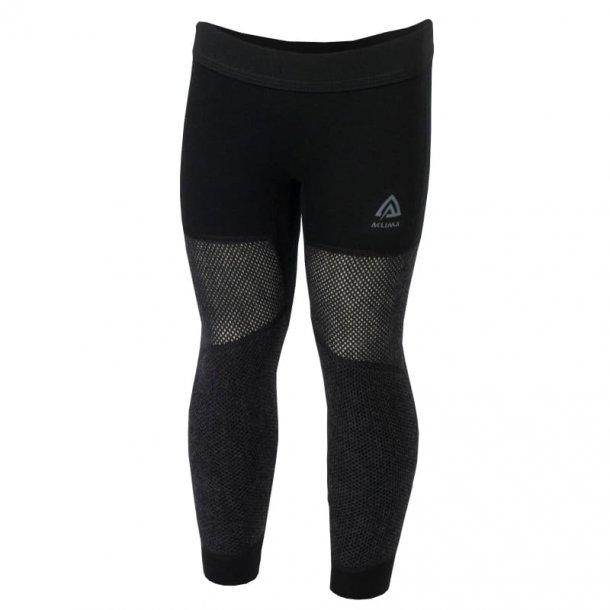 Aclima Woolnet Mini Long Pants Children Brace Melange/Jet Black